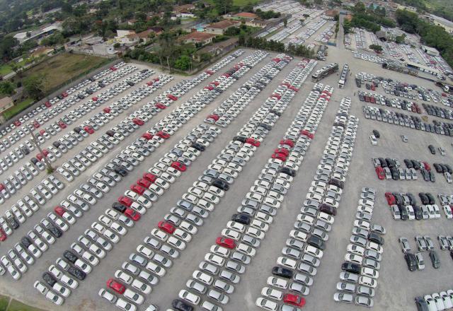 Armazenagem de carros