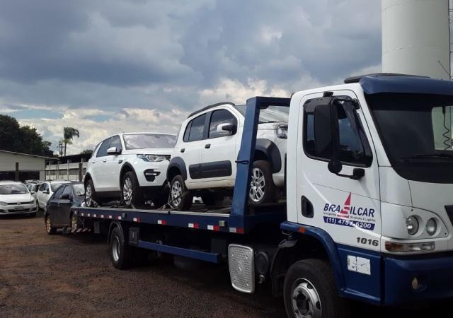Transporte de carros usados