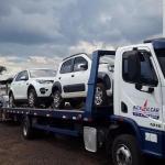 Transporte de carros de luxo