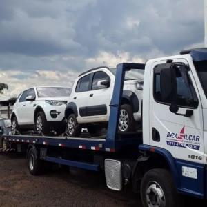 Transporte de carros por cegonha